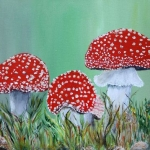 """Toadstools"" by Carole Rigler"