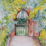 """Garden Gates"" by Ginette Jones"