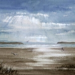 """View of Sandbanks"" by Stella Hardy"