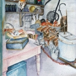 """Gardener's Shed"" by Rose Houlton"