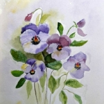 """Pansies"" by Margaret Fountain"