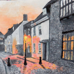 Twilight old town Poole - Frances Wheatley