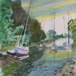 Early Morning - on The Frome (Chris Holton)
