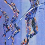 Dancers in Blue (Pam Judd)