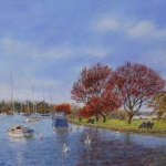 Christchurch Quay (Celia Harwood)