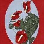 """Exotic Flower (Anthurium)"" by Kath Sumner"