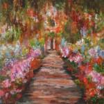 A Study after Monet(Eve Ovington)
