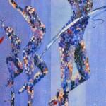 Dancers in Blue(Pam Judd)