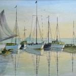 Harbour Scene(Margaret Poole)