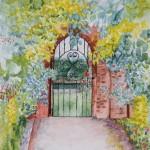 """""""Garden Gates"""" by Ginette Jones"""