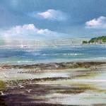 """""""Low Tide Sandbanks"""" by Stella Hardy"""