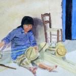 """""""Basket Maker"""" by Lillian Emberley"""