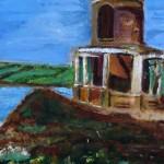 """""""Tower, Kimmeridge"""" by Lesley Pierce"""