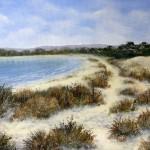 """""""Knoll Beach, Studland"""" by Paula Bennett"""