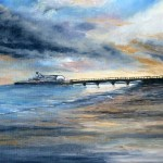 """""""Dawn, Bournemouth""""  by Margaret Comer"""