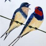 """Swallows"" by Christine Riley"