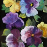 """""""Pansies"""" by Rita Norris"""