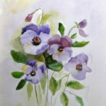 """""""Pansies"""" by Margaret Fountain"""